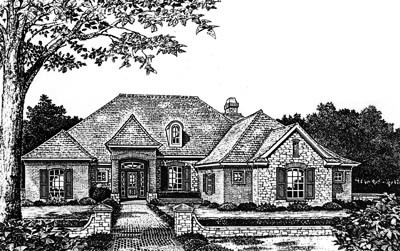 Traditional Style Floor Plans Plan: 8-650