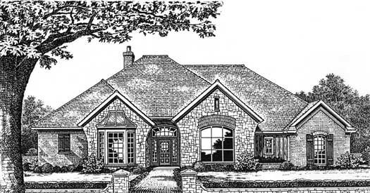 Traditional Style Floor Plans Plan: 8-664