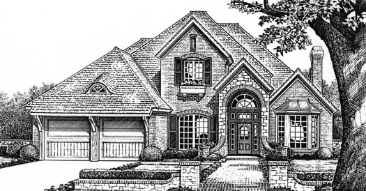 Traditional Style Floor Plans Plan: 8-665