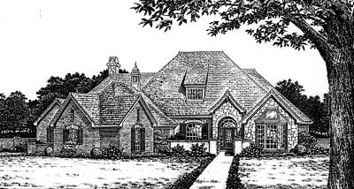 Traditional Style Floor Plans Plan: 8-668