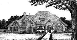 Traditional Style Home Design Plan: 8-668