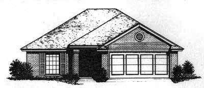 Traditional Style Floor Plans Plan: 8-673
