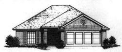 Traditional Style Home Design Plan: 8-673