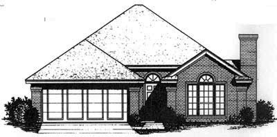 Traditional Style Home Design Plan: 8-675