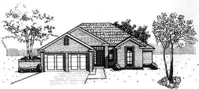 Traditional Style Floor Plans Plan: 8-676