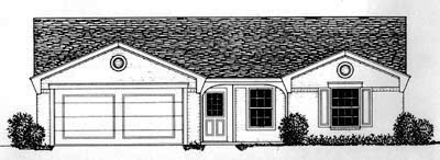Traditional Style House Plans Plan: 8-677