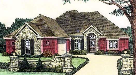 Traditional Style House Plans Plan: 8-682