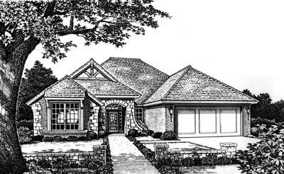 Traditional Style Floor Plans Plan: 8-683