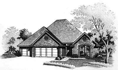 Traditional Style Floor Plans Plan: 8-686
