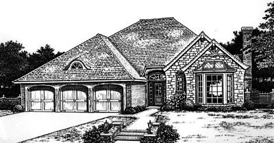 Traditional Style Floor Plans Plan: 8-700