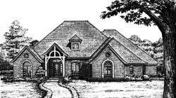 European Style House Plans Plan: 8-707