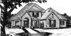 European Style House Plans Plan: 8-709