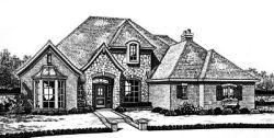 European Style House Plans Plan: 8-716
