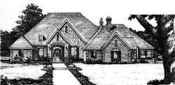 European Style House Plans Plan: 8-718