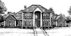 European Style House Plans Plan: 8-723