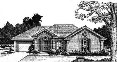 Traditional Style Floor Plans Plan: 8-762