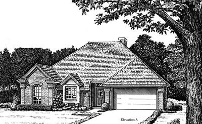 Traditional Style Floor Plans Plan: 8-764