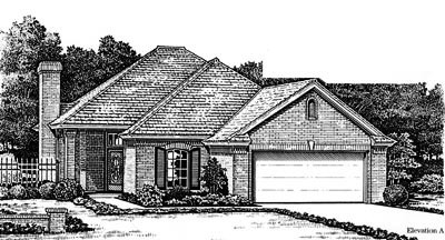 Traditional Style Floor Plans Plan: 8-769