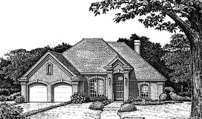 Traditional Style Floor Plans Plan: 8-770