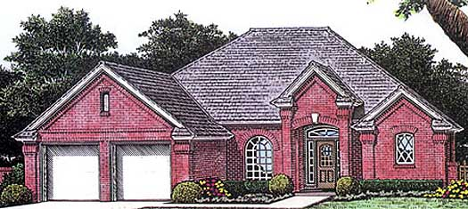 Traditional Style Floor Plans Plan: 8-771