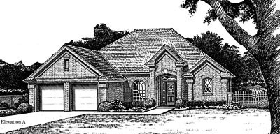 Traditional Style Floor Plans Plan: 8-773