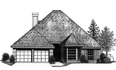 Traditional Style House Plans Plan: 8-774
