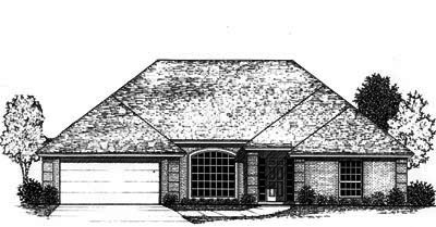 Traditional Style Floor Plans Plan: 8-778