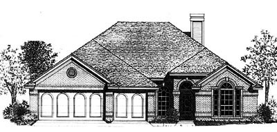 Traditional Style House Plans Plan: 8-781