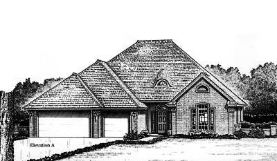 Traditional Style Floor Plans Plan: 8-784
