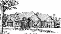 European Style Floor Plans Plan: 8-867