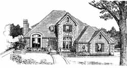 Traditional Style Floor Plans Plan: 8-875