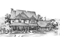 Victorian Style House Plans Plan: 8-904