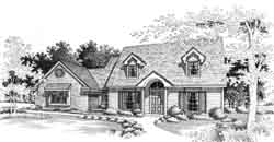 Country Style Floor Plans Plan: 8-905