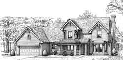 Victorian Style House Plans Plan: 8-913