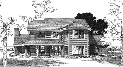 Country Style House Plans Plan: 8-915