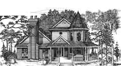 Victorian Style House Plans Plan: 8-916