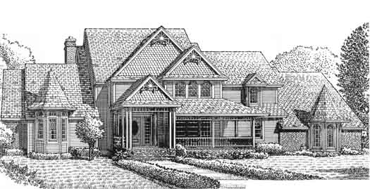 Farm Style Floor Plans Plan: 8-919