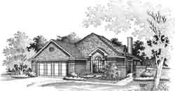 Traditional Style Floor Plans Plan: 8-953