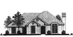 Traditional Style Home Design Plan: 8-965