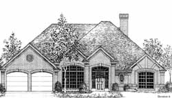 Traditional Style Floor Plans Plan: 8-969