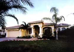 Florida Style House Plans Plan: 81-101