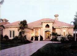 Sunbelt Style Home Design 81-104