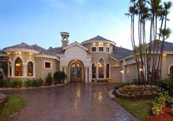 Mediterranean Style House Plans 81-105