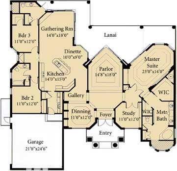 Main Floor Plan: 81-119