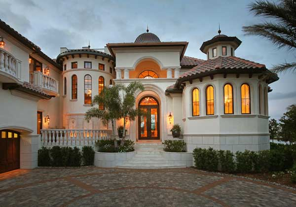 Mediterranean Style Home Design