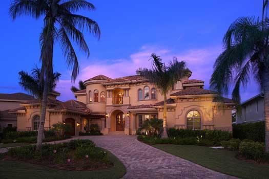 Mediterranean Style Home Design Plan: 82-103
