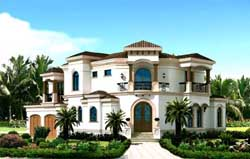Florida Style Floor Plans Plan: 82-106