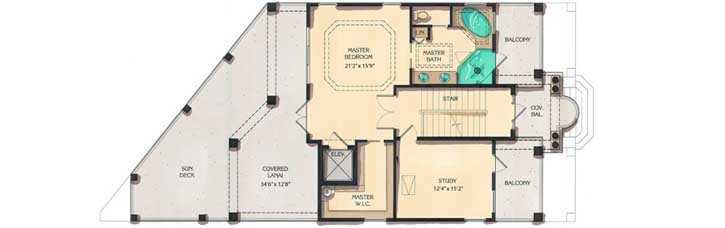 Upper/Second Floor Plan 82-109