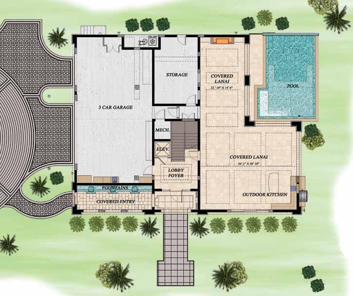 Main Floor Plan: 82-112