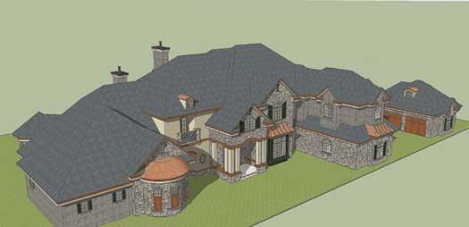 European Style House Plans Plan: 82-114